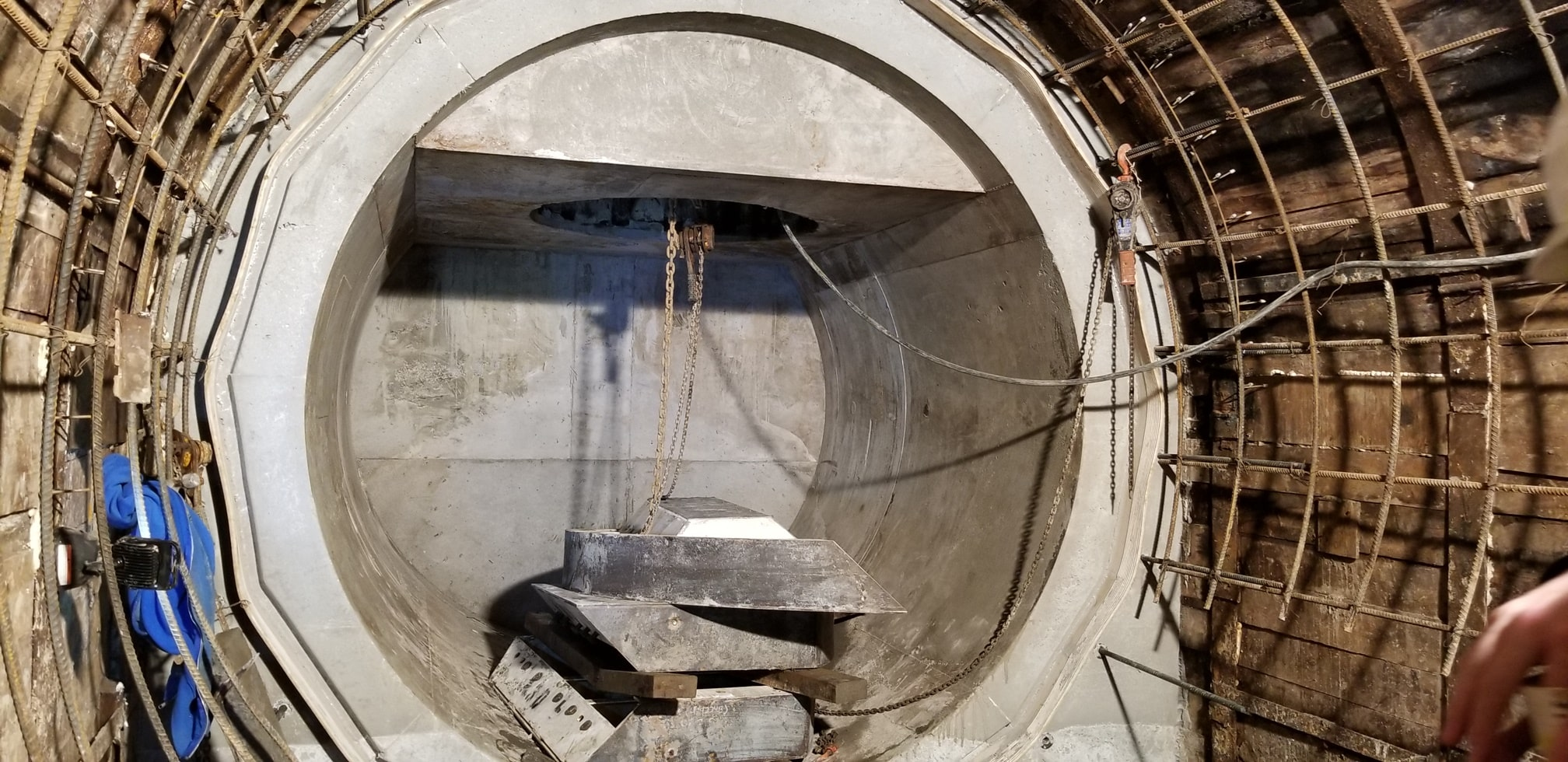 Courtenay Drop Shaft Connection