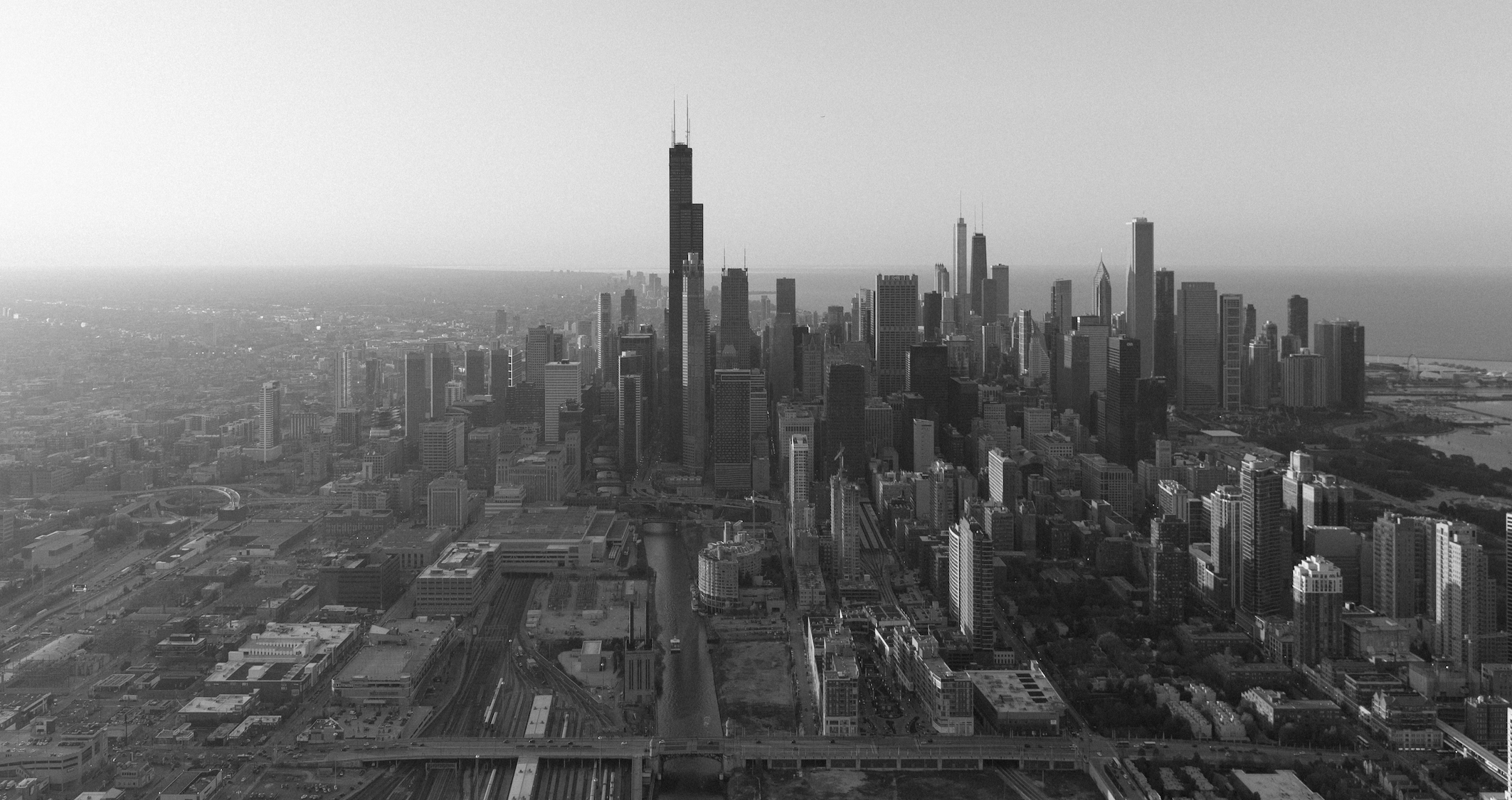 B&W Skyline Photo