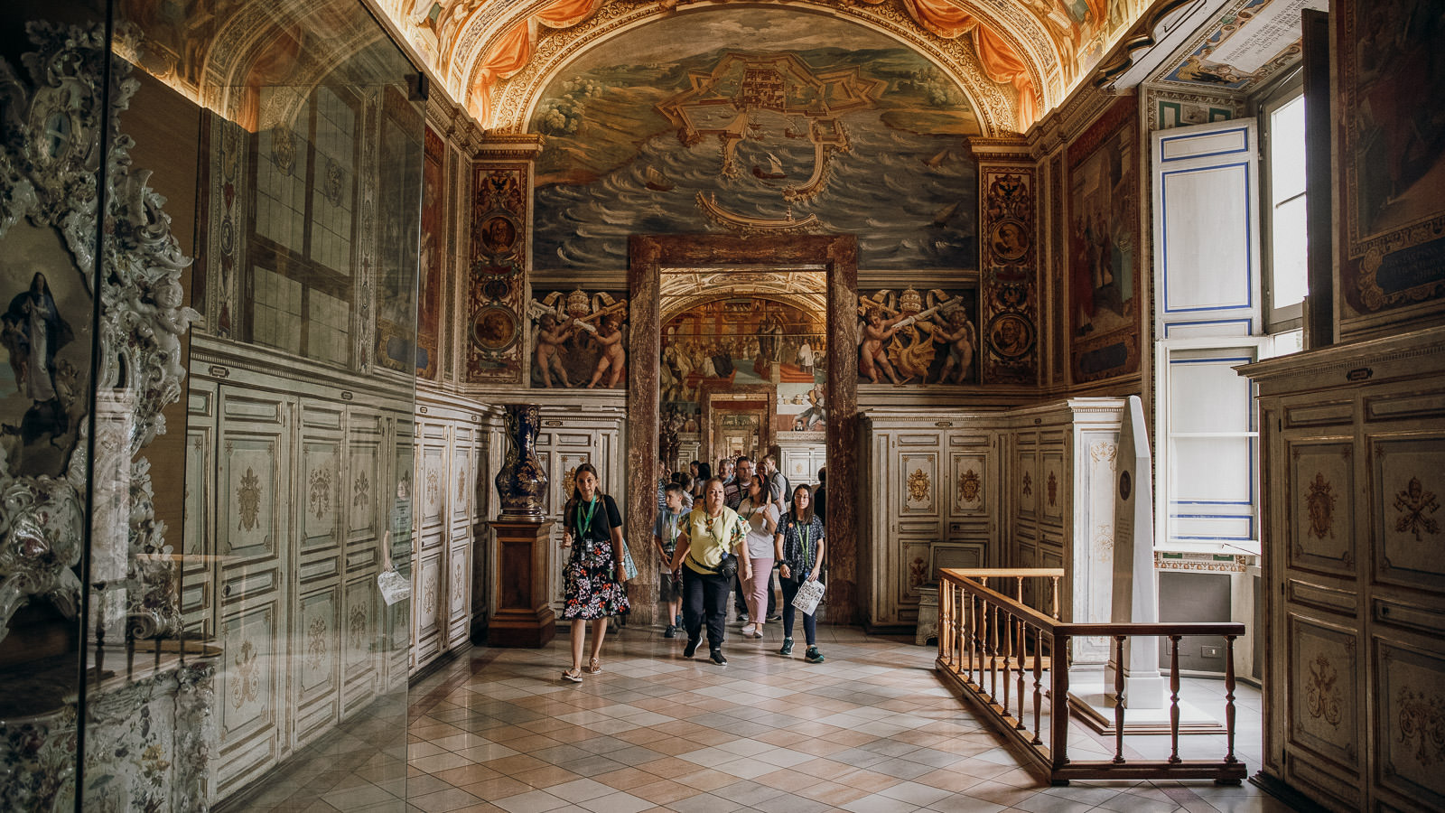 The Official Pristine Sistine Tour Enter Before The Public