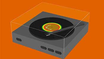 CSS Record Player