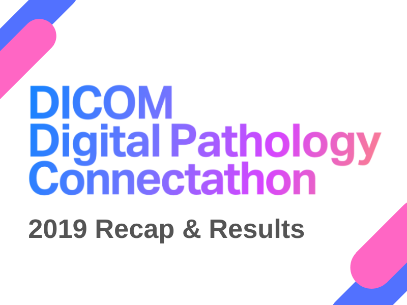 DICOM Digital Pathology Connectathon: 2019 Results and 2020 Road Map