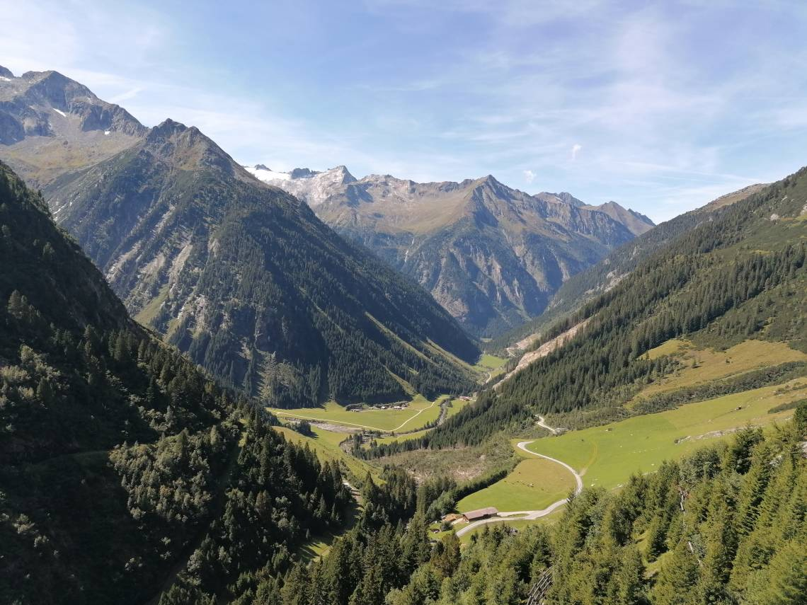 Zillergrund view from the valley © TVB_Mayrhofen
