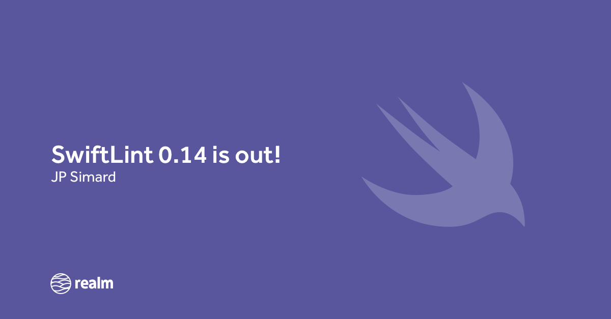 SwiftLint 0 14 is out: CocoaPods installs, Linux support