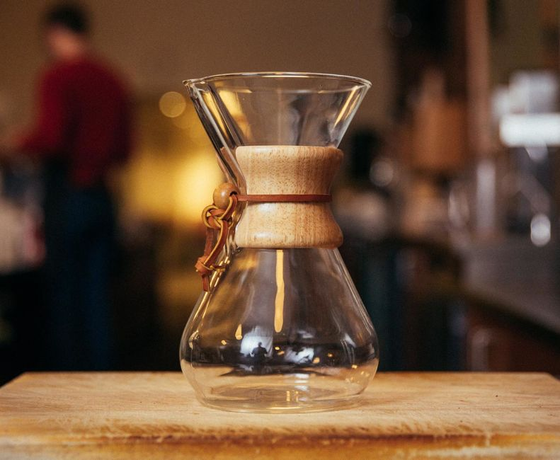 brew with chemex stumptown coffee roasters