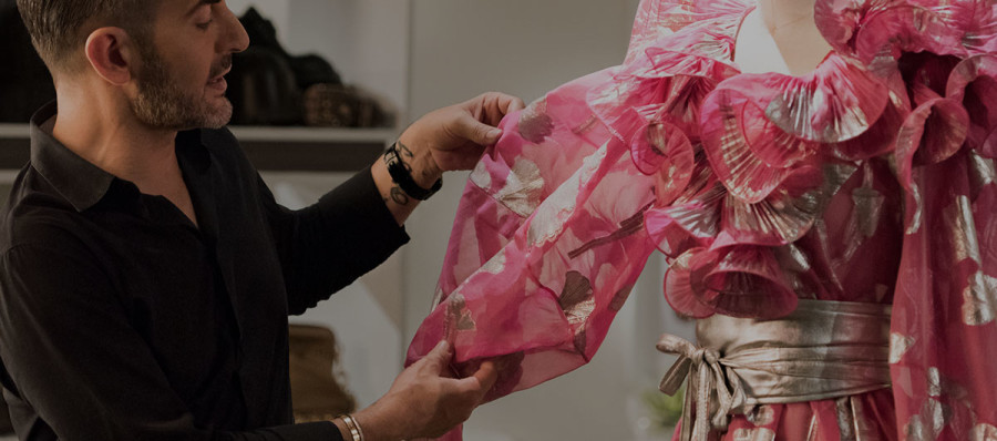 Learn About Jacquard Fabric With Fashion Designer Marc Jacobs With Video
