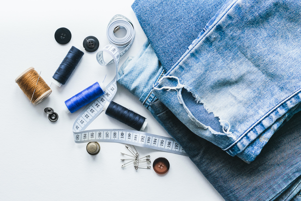 How To Fix Ripped Jeans 6 Methods For Patching Denim 2020 Masterclass