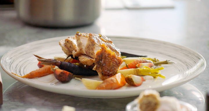 Chicken Supreme Origins Tips And Chicken Supreme With Root Vegetables Recipe 2021 Masterclass