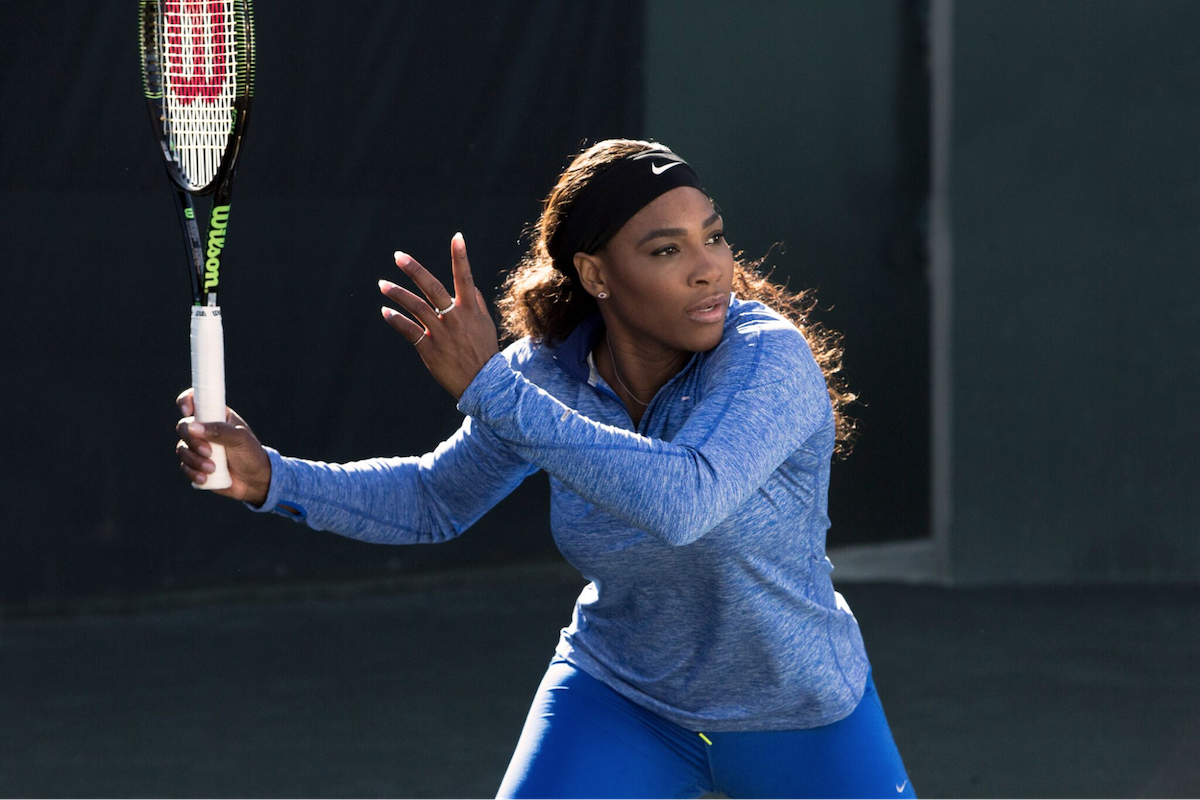 Perfect Your Tennis Forehand Technique With Tips From Serena Williams With Video