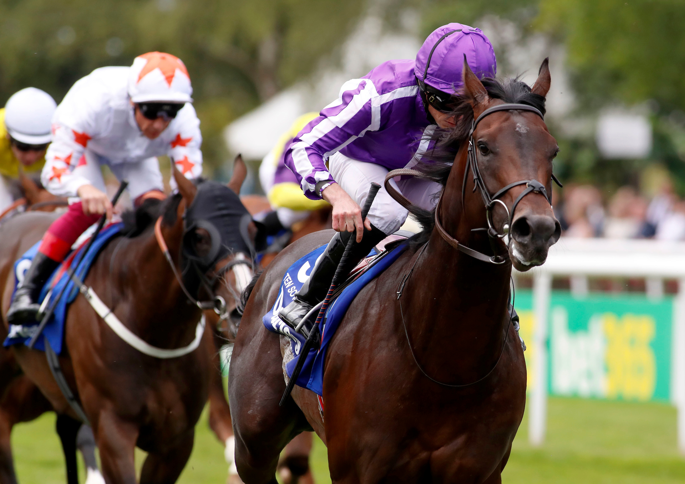 Aidan O'Brien wins fifth Group One July Cup