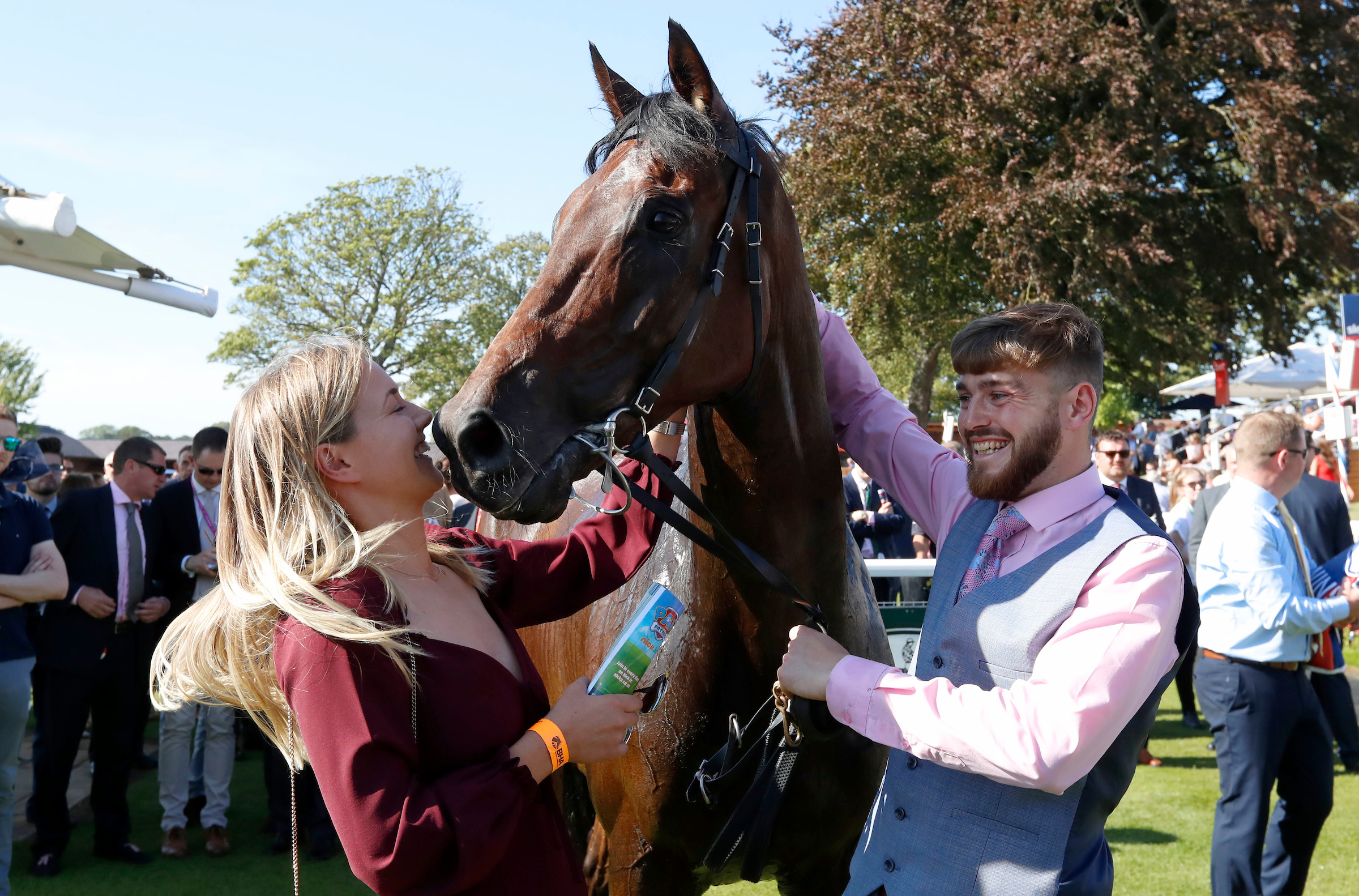 Yorkshire Ebor Festival: Mustajeer claims £1m handicap prize at York