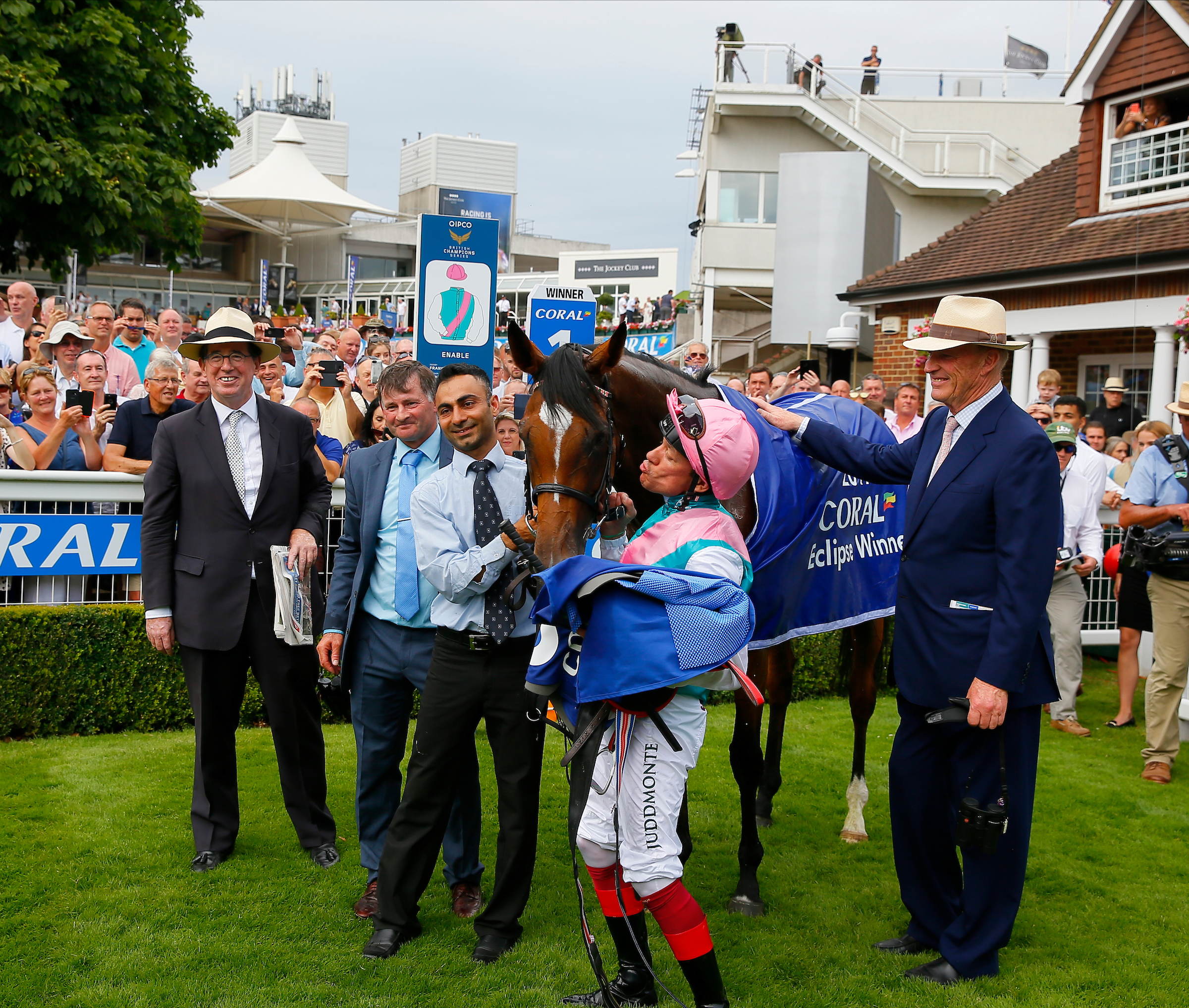 Frankie Dettori gives Enable ultimate accolade after winning at Sandown