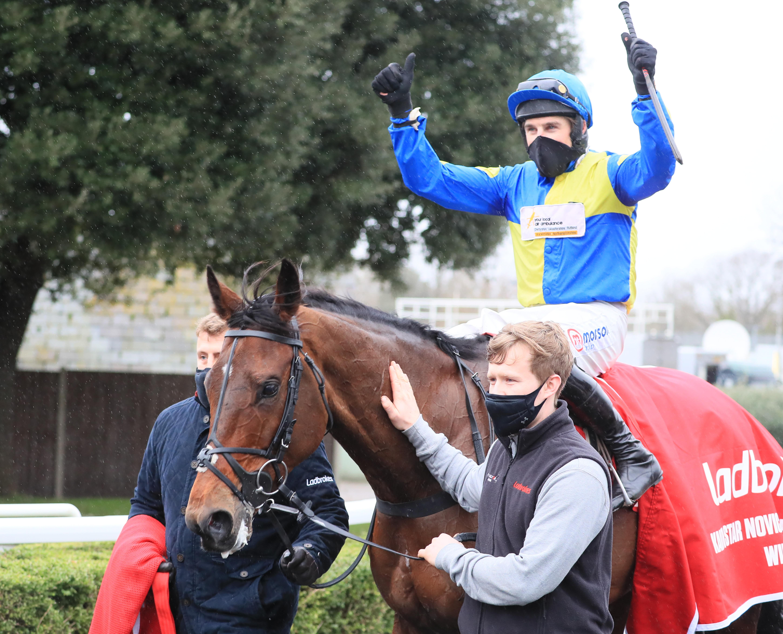 Shan Blue has the King George VI Chase on his agenda (Pic: Focusonracing)