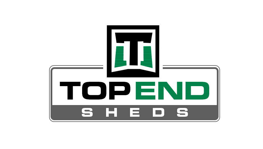 Logo for Top End Sheds