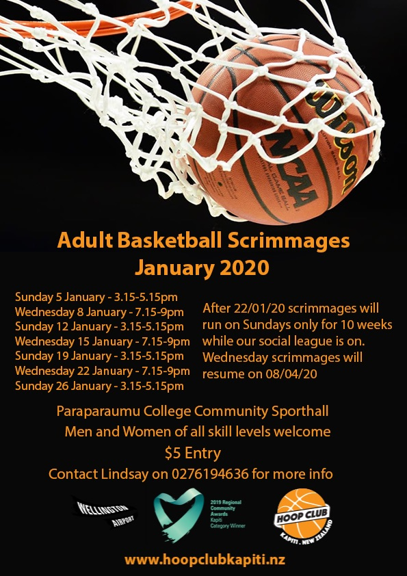 Adult Mixed Basketball Scrimmages
