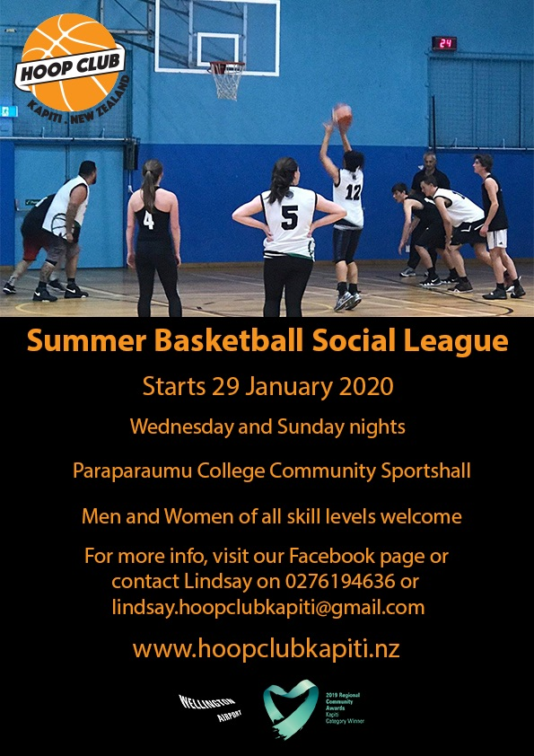 Summer Basketball Social League