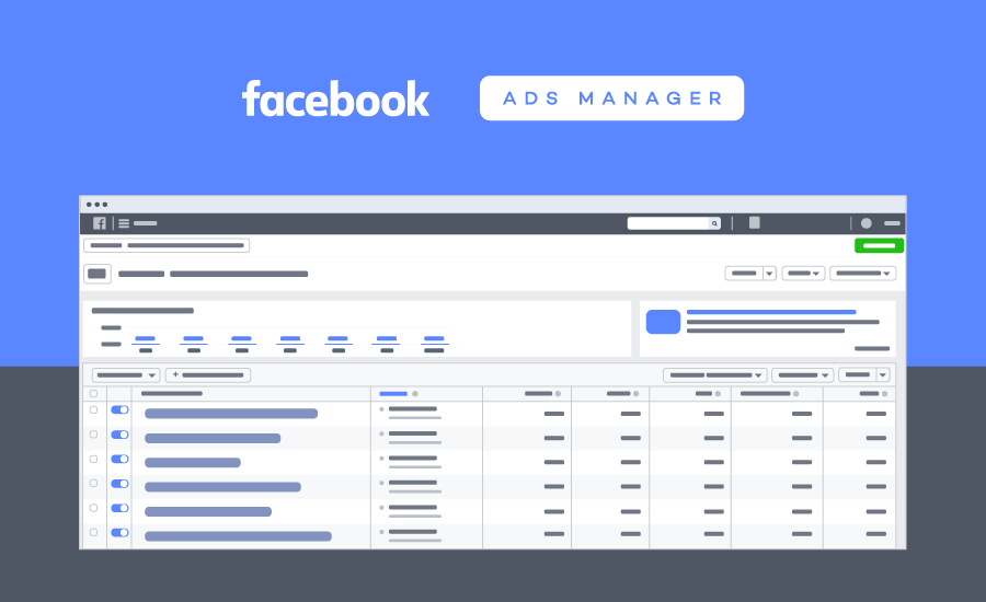 A glimpse into Facebook Ads Manager