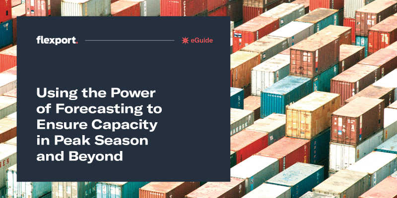 Using the Power of Forecasting to Ensure Capacity in Peak Season and Beyond