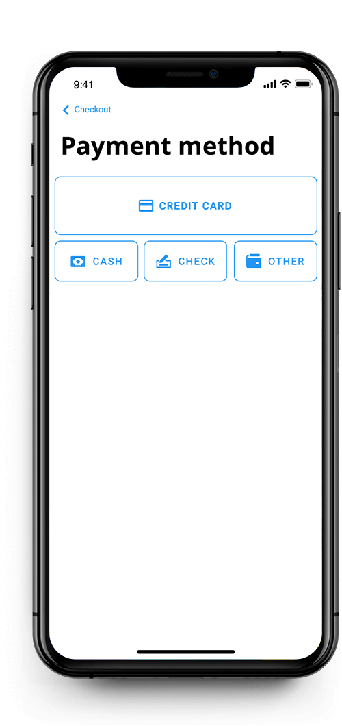 iPhone - Payment Processing