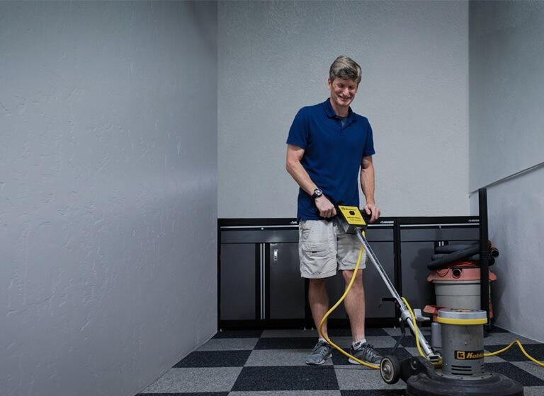 Carpet cleaning hero