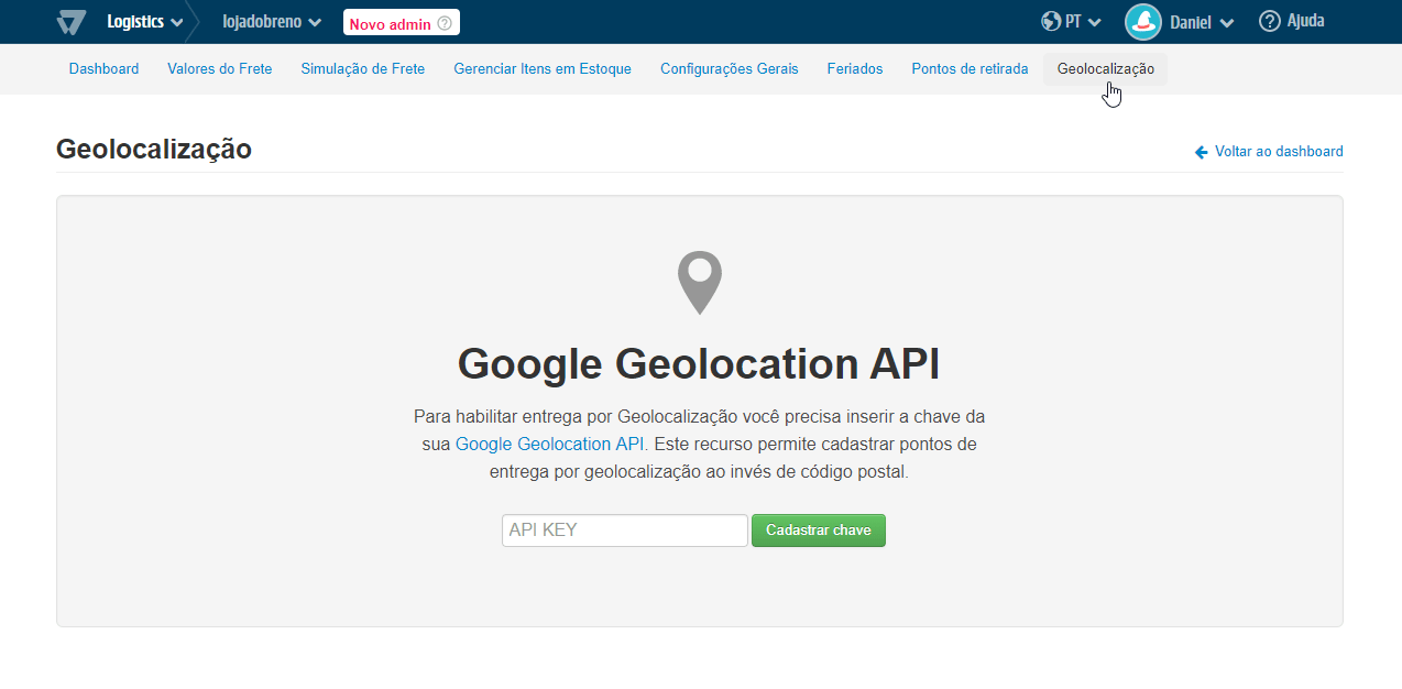 Google Geolocation API (PT)