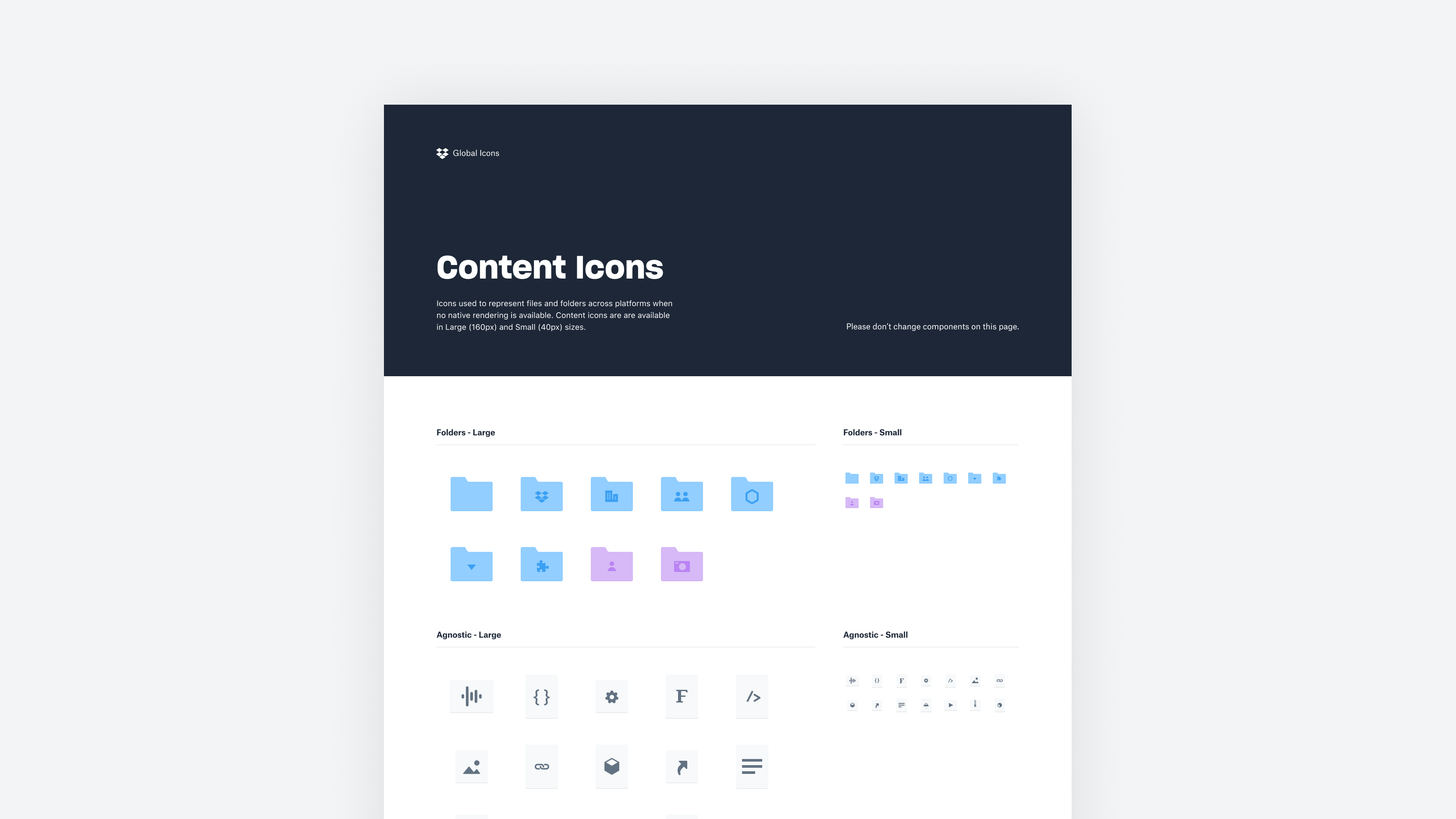 Content Icons in the Global Icons library.