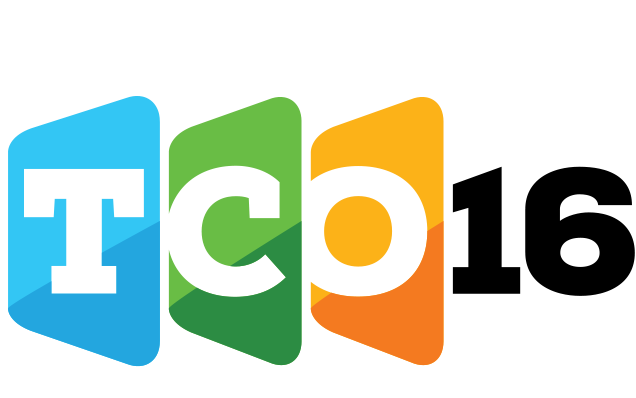 Logo for TCO16