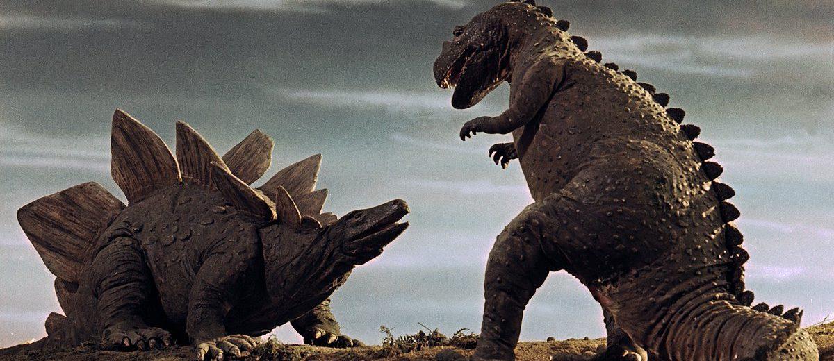 scontro stegosauro vs ceratorauro