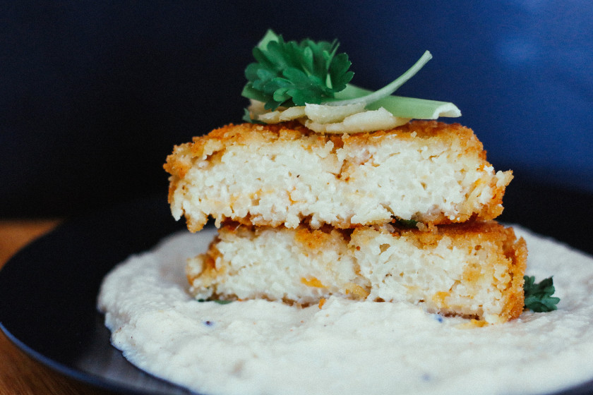 Fried Capellini Cakes Recipe