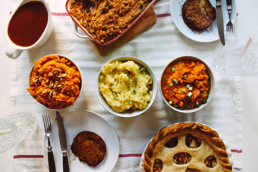 A71 4 recipes for a thanksgiving dinner