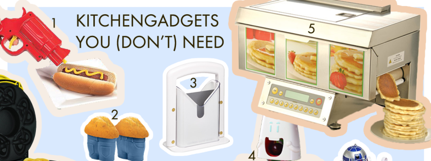 A8 Kitchengadgets, you (don't) need
