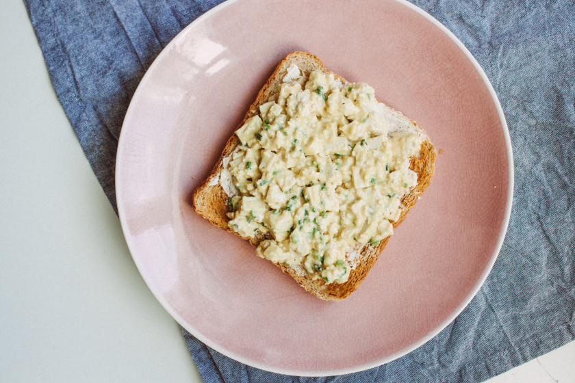 R95 Vegan egg salad
