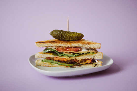 Vegan Club Sandwich