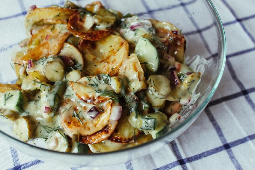 Ozapft is 6 recipes for your vegan oktoberfest menu zuckerjagdwurst a70 oktoberfest potato salad forumfinder Choice Image