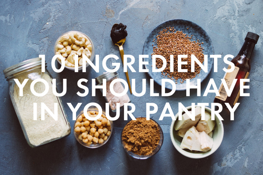 100 10 (secret) ingredients you should have in your pantry