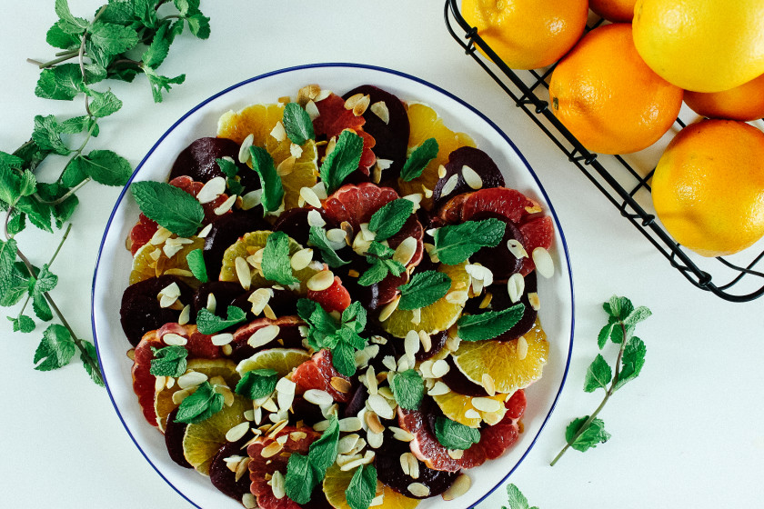 R105 Beetroot and Citric Salad