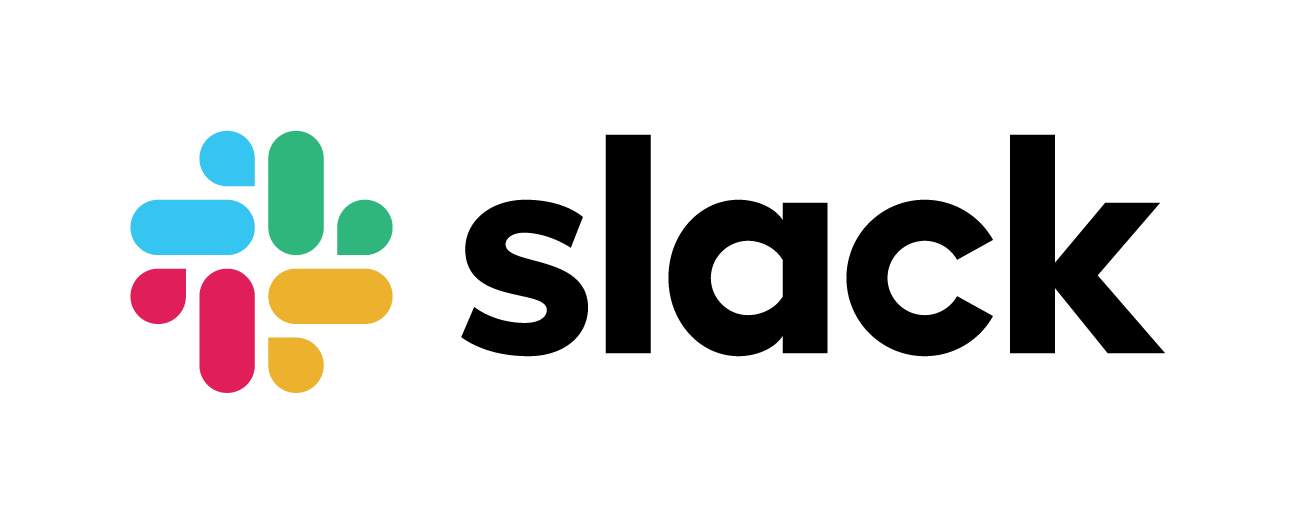 slack logo with name