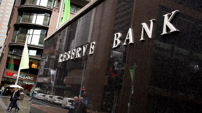 Reserve bank announcement