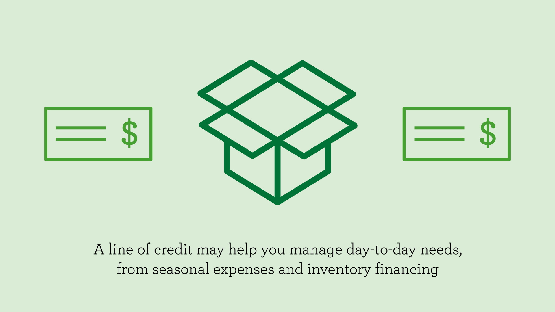 Choosing the right credit option for your business: Line of credit