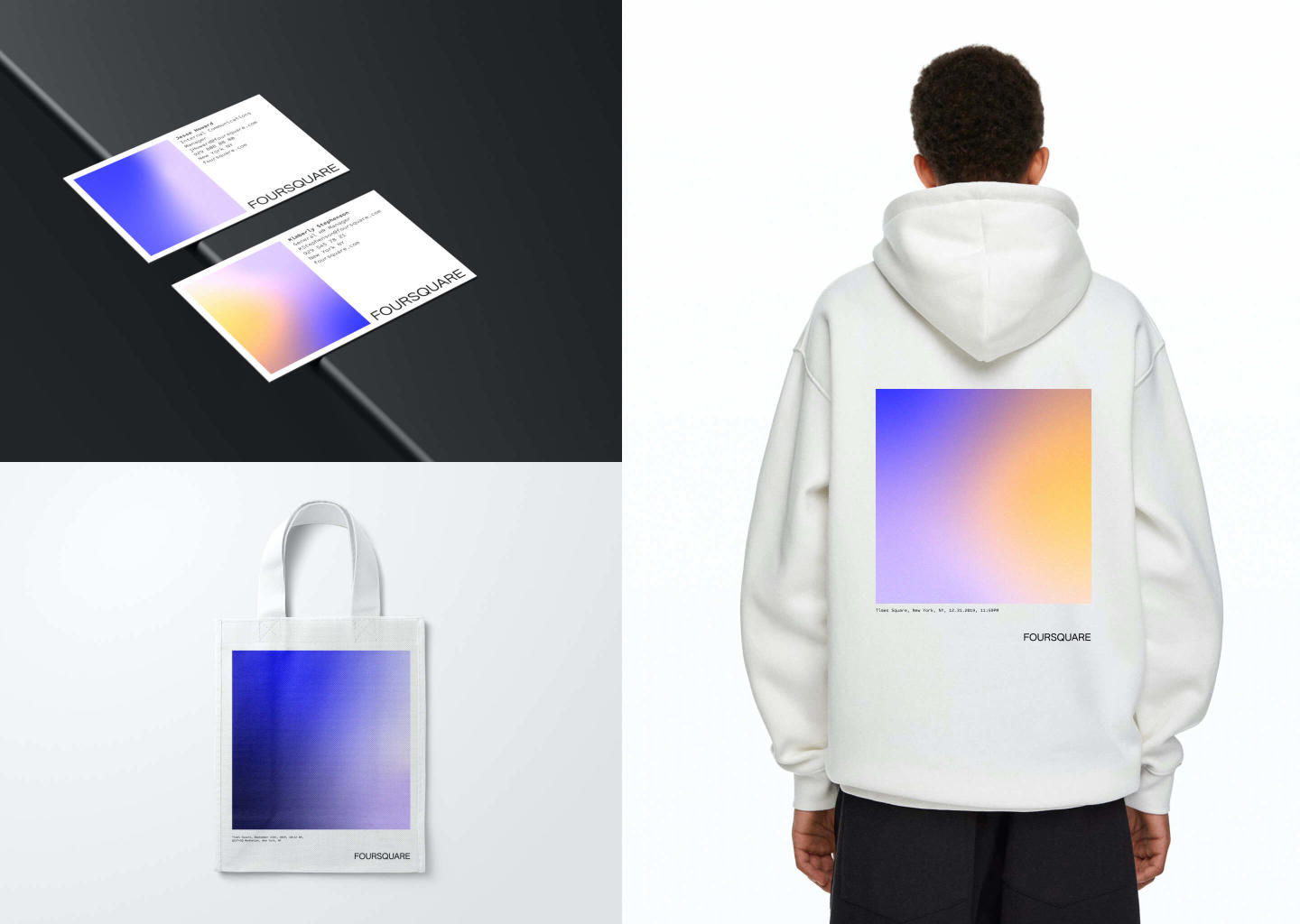 New branding gradient and swag
