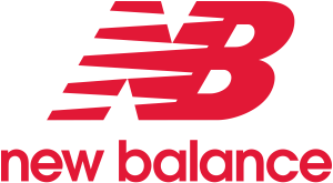 The logo of New Balance
