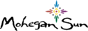 The logo of Mohegan Sun