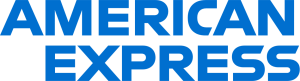 The logo of American Express