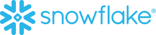 The logo of the company Snowflake