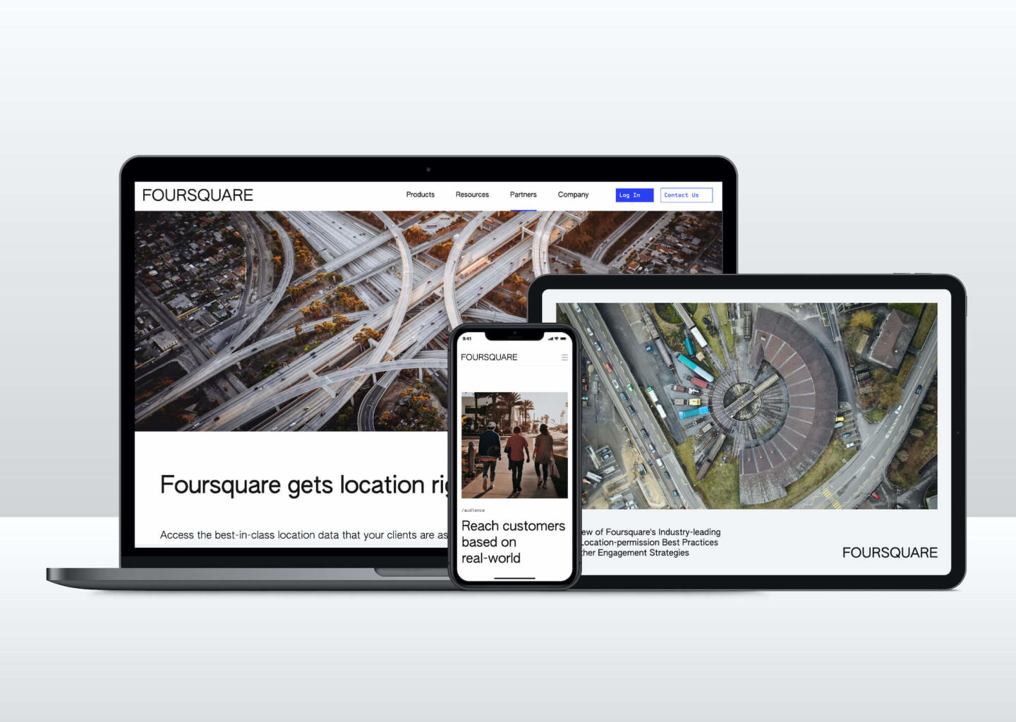 website and mobile