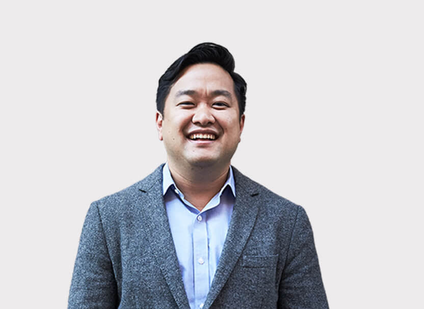 Headshot of CEO David Shim