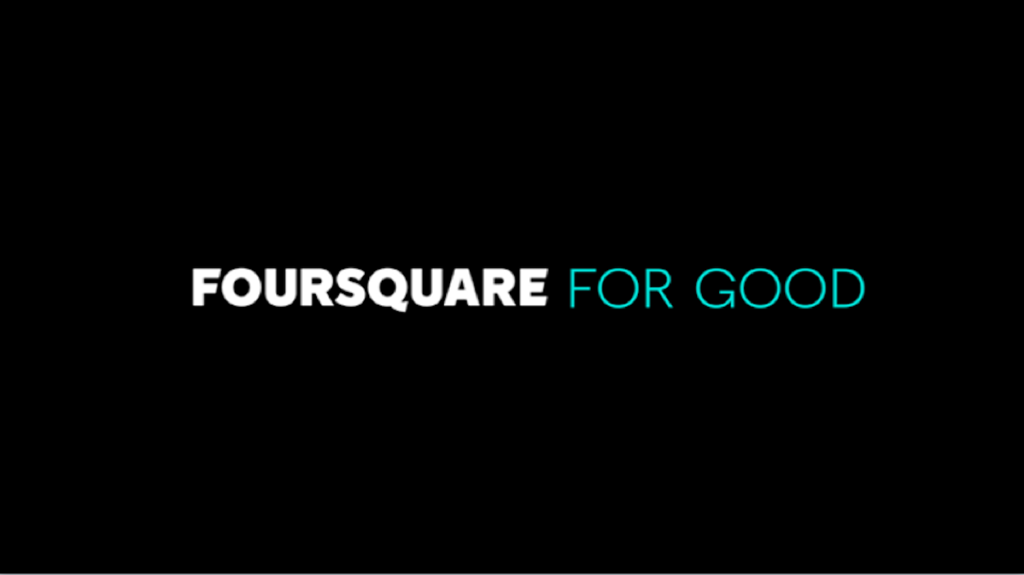 Foursquare for good