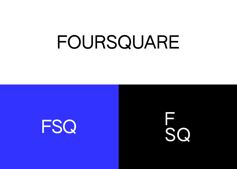 Image: New foursquare logo and icon