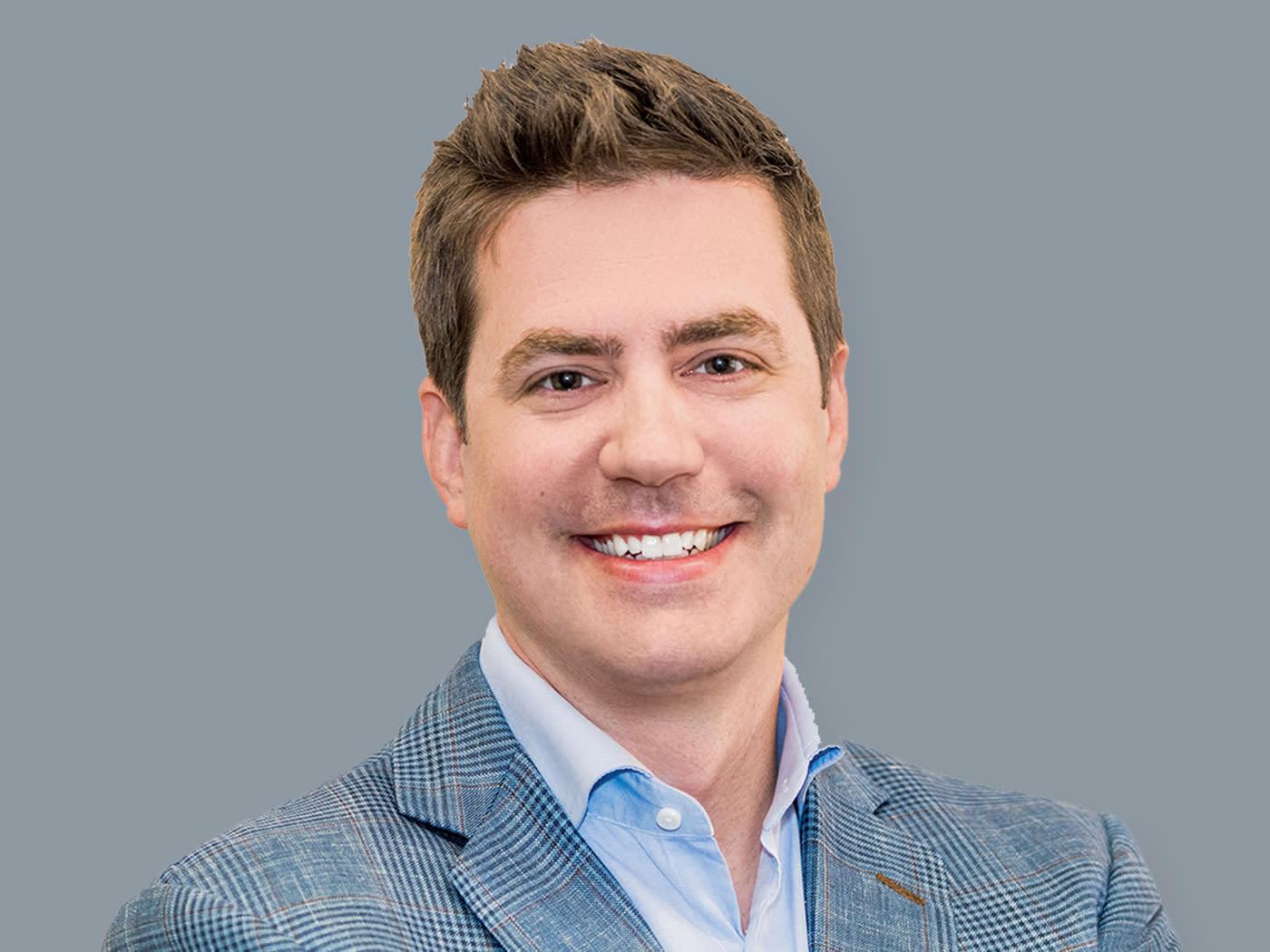 Headshot of CEO Gary Little