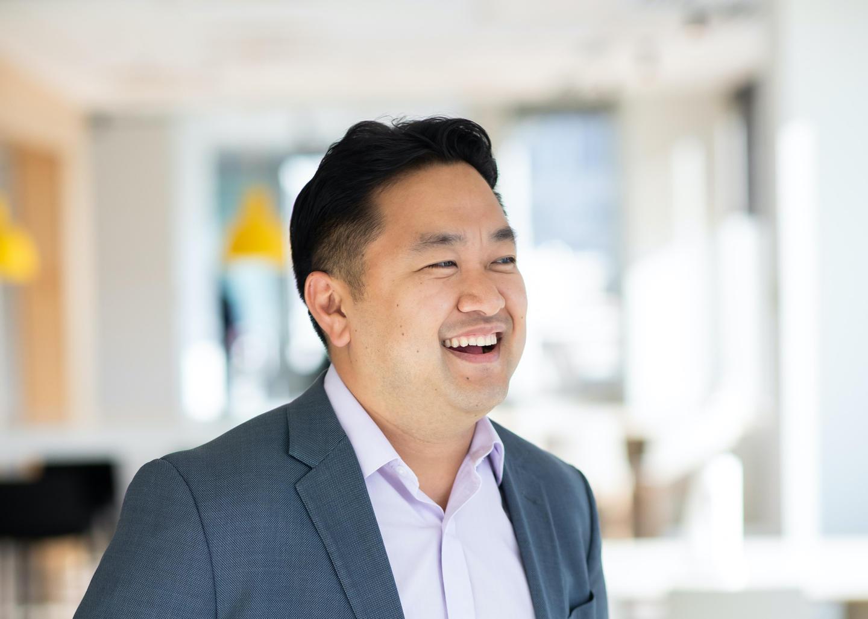 David Shim smiling