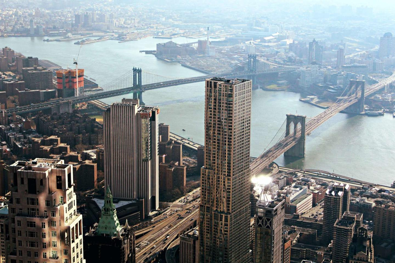 Brooklyn Bridge sky image